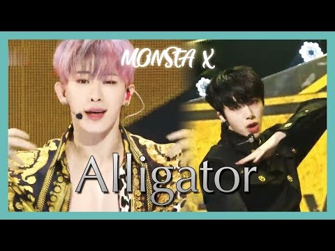 [HOT] MONSTA X - Alligator, 몬스타엑스 - Alligator  Show Music core 20190309