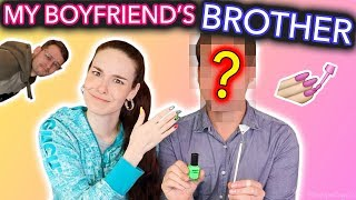 My Boyfriend's Brother Paints My Nails *scandalous*