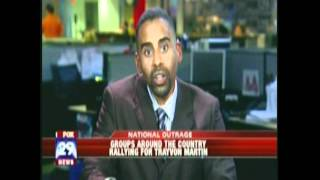 Bill Anderson on Fox 29 News discussing Trayvon Martin Case