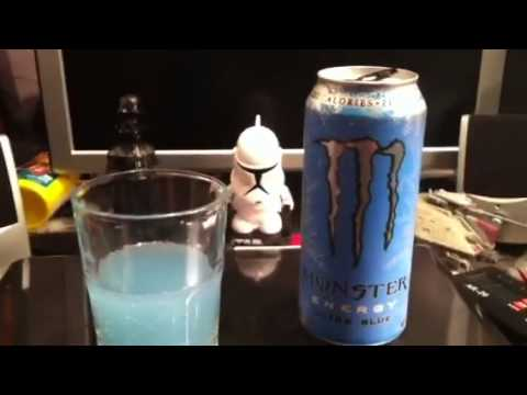 Monster Energy: Ultra Blue review (new flavor)