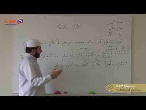 Arapça Dersi 21 - Sülasi Mücerredler 4. Bab (Arapça Öğreniyorum)
