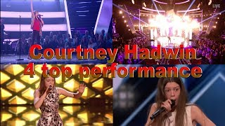 Courtney Hadwin - A Musical Talent Is Born / Nasce um Talento Musical