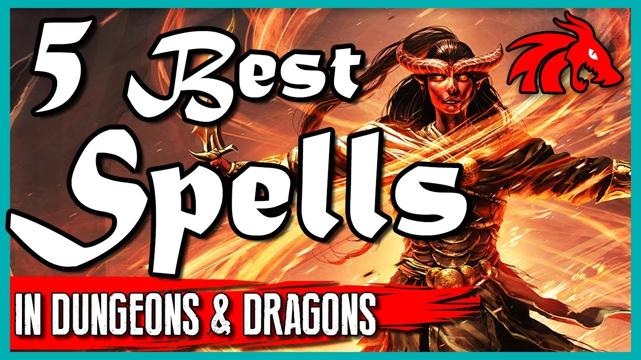 Five Best Spells to Use Against Your Players in D&D 5e