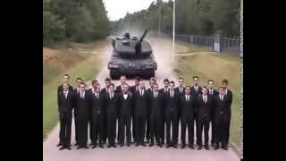Leopard Tank Emergency Brake Test