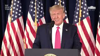 LIVE: US President Donald Trump Holds a News Conference | NTD