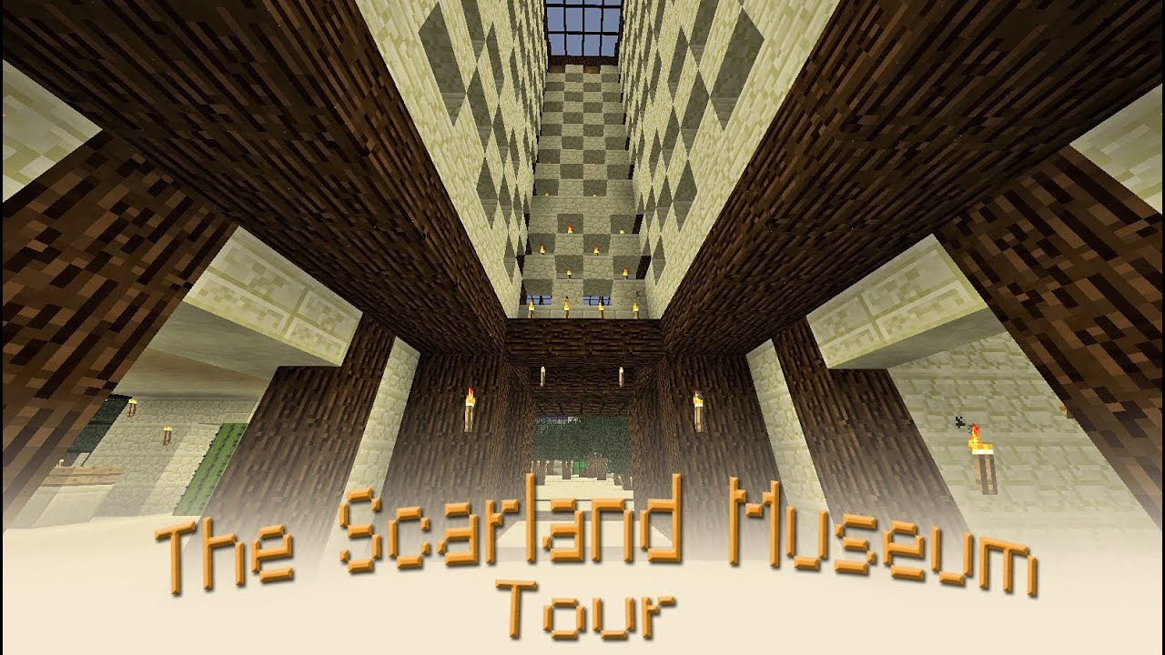 Tour Of The Greatest Minecraft Museum Ever Built Youtube