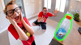 Father VS Son GAME OF BOTTLE FLIP 4!