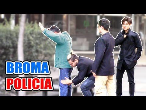 BROMA POLICÍA ENCUBIERTO!