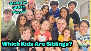 WHICH KIDS ARE SIBLINGS?   OUR ADOPTION STORY!   FAMILY STORY!