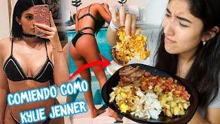 Probe la dieta de KYLIE JENNER por un DIA |@yoananavanquiri