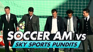 Soccer AM v Sky Pundits | Volley Challenge! w/ Carragher, Redknapp & Le Tissier