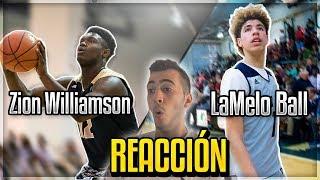 LaMelo Ball vs Zion Williamson   REACCIÓN