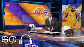 Scott Van Pelt on LeBron James joining Lakers: 'Final act of his NBA story' | SC with SVP | ESPN