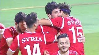 ملخص مباراة الإمارات و سوريا   البطولة الدولية للمنتخبات ...