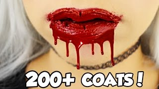 200+ coats! HOW MANY COATS ARE IN A KYLIE JENNER LIP KIT?! EP2 LIQUID LIPSTICK | NICOLE SKYES
