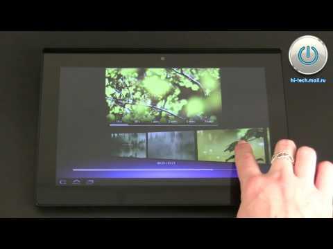 Обзор Sony Tablet S