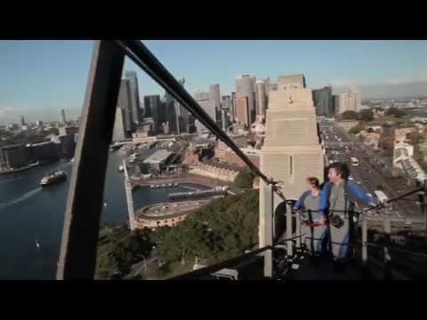 video Bridge Climb Twilight