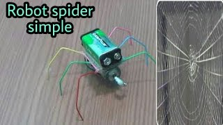 how to make a Robot spider - very easy [newcd]