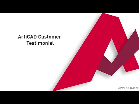 ArtiCAD - Customer Testimonial