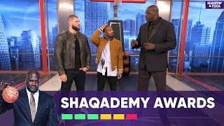 Shaq Recreates Scenes from Black Panther and Creed | NBA on TNT