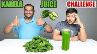 KARELA JUICE / RAS CHALLENGE | Bitter Gourd Juice Competition | Food Challenge