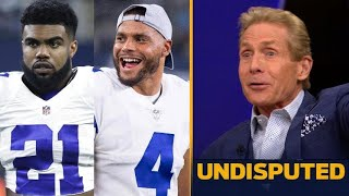 """UNDISPUTED - Skip tells Shannon: """"My Cowboys will run away with the NFC East"""""""