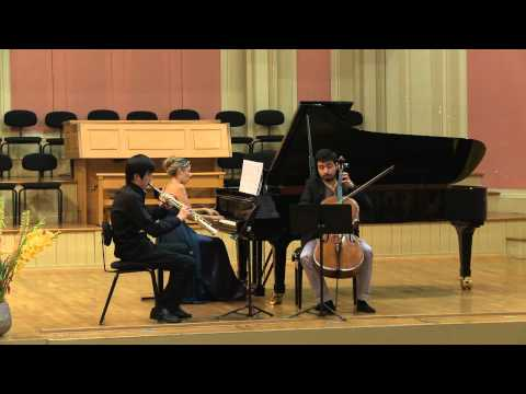 Claude Debussy - Trio in G major (1880) - 3/4 - Trio Saxpiacello