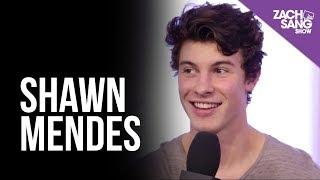 Shawn Mendes Talks Album #3 and Blake Shelton | Backstage at the AMAs