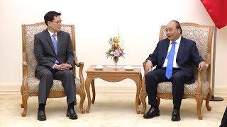 Thủ tướng tiếp Thống đốc Ngân hàng Trung ương Thái Lan