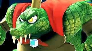 Super Smash Bros Ultimate All Characters Trailers & All Final Smashes So Far (Switch) King K Rool