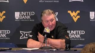 BlueGoldNews.com: WVU Basketball Bob Huggins Northern Colorado Postgame 11/18/19