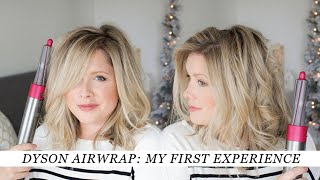 My FIRST TIME trying the Dyson Airwrap Styler