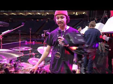 Jason Bowers Drum Tech for Eric Hernandez
