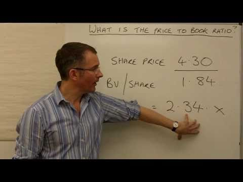 What is the price to book ratio?