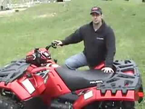 2009 Polaris Sportsman XP ATV