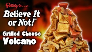 DIY GRILLED CHEESE VOLCANO 🍞🧀🌋