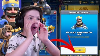 What GIFT did I Get from SUPERCELL? - Clash Royale