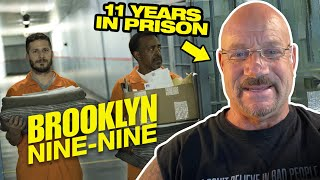 Ex-Con Reacts - Brooklyn 99 Going to Prison - It's a Brooklyn Nine Nine Reaction Video!