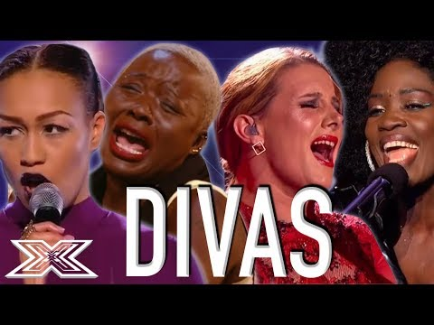 PITCH PERFECT Diva Performances! Louisa Johnson, Panda Ross & MORE! | X Factor Global