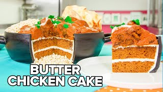 Butter Chicken CAKE!! | Pumpkin Spice & Caramel | How To Cake It