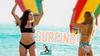 Surfing with Sarah! Weekend with IT Cosmetics!! | Jeanine Amapola