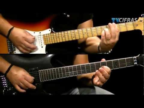 Iron Maiden - Seventh Son of a Seventh Son - Aula de guitarra - TV Cifras
