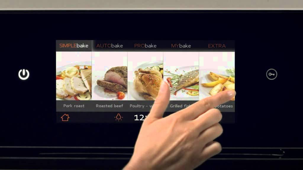 Gorenje Homechef Innovative Touch Screen Youtube