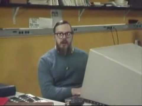 Ken Thompson and Dennis Ritchie Explain UNIX (Bell Labs)
