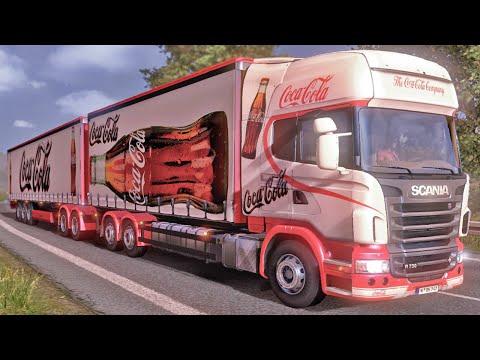 Euro Truck Simulator 2 - Caminhão da Coca Cola