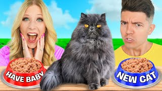 I Let My CAT Control our DATE NIGHT! ft. Preston
