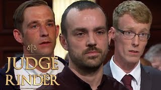 Angry Traders Compilation | Judge Rinder