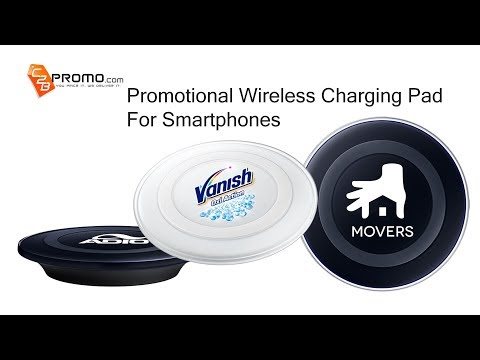 Personalized Wireless Charging Pad with Promotional Logo