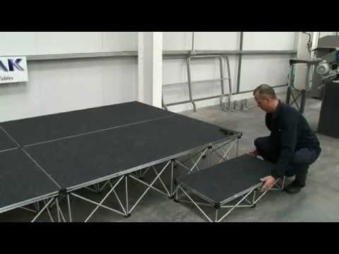 Ultralight Stage Decks & Risers Width2000 x Depth1000mm