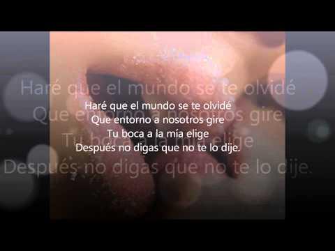 Si tu me besas - Victor Manuelle Letra